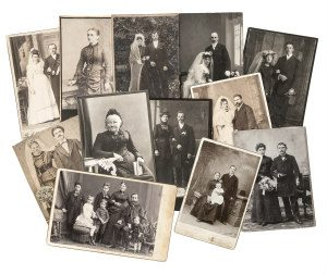 polish marriage photo collage