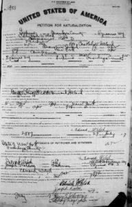 naturalization petition