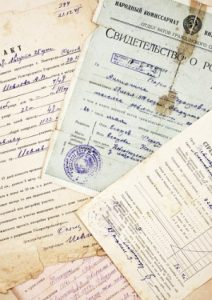 old immigration documents