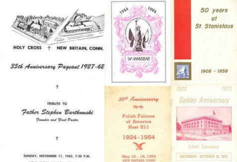 Polish Anniversary Books