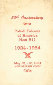 polish falcons of america anniversary book