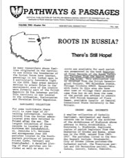 Roots in Russia? There's Still Hope!