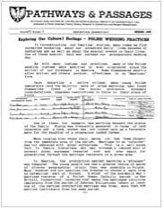 Newsletter Archives of the PGSCTNE