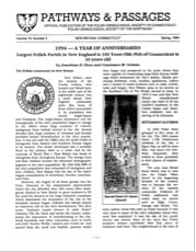 1994 - A Year of Anniversaries: Largest Polish Parish in New England is100
