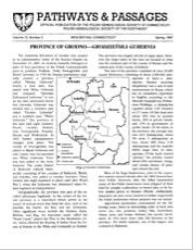 Province of Grodno - Grodzieńska Gubernia