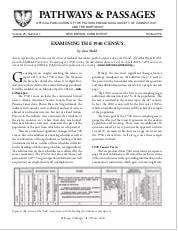 Examining the 1940 Census
