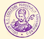 Dabrowa Bialostocka parish seal