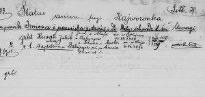 Lists of Parishioners
